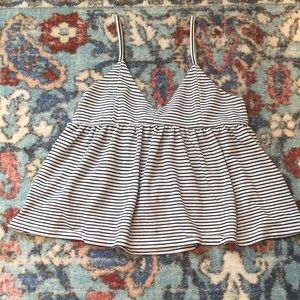 Stripped blouse size small
